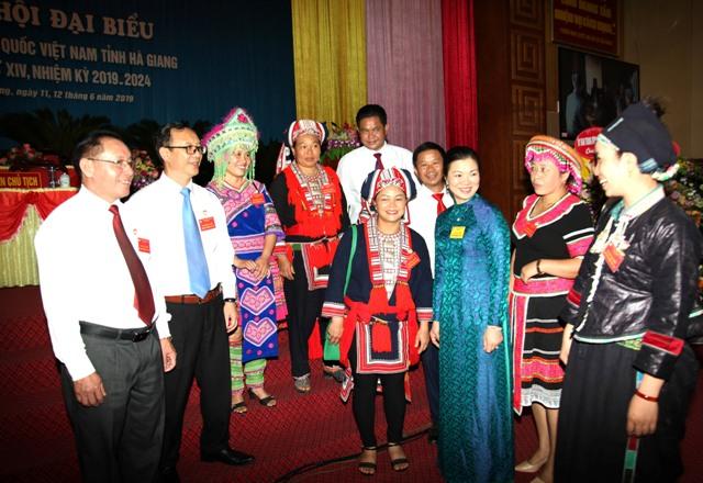 Đại hội đại biểu MTTQ tỉnh Hà Giang lần thứ XIV